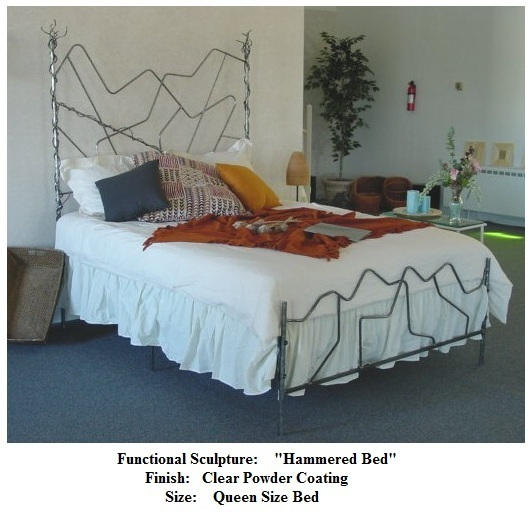 Functional Art_  Hammered Bed  2010