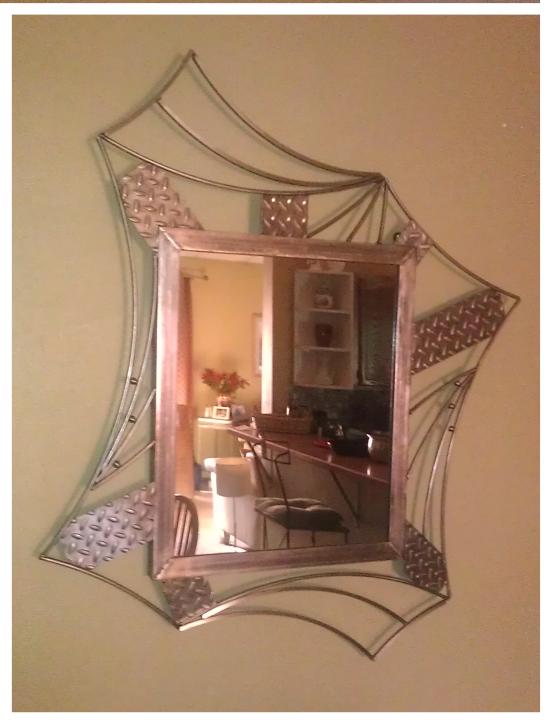 Small Diamond Plate Mirror