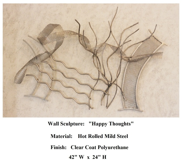 Wall Sculpture_ Happy Thoughts 2005