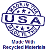 Made in USA - Recycled