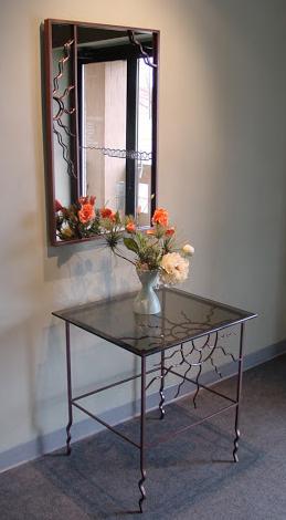 SunMelt Mirror n Table