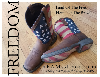 SFA Boots - American Flag
