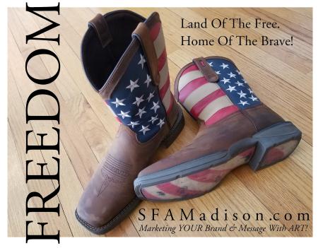 SFA Boots - American Flag